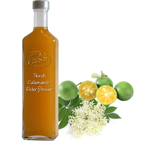 Shrub Calamansi-Elderflower