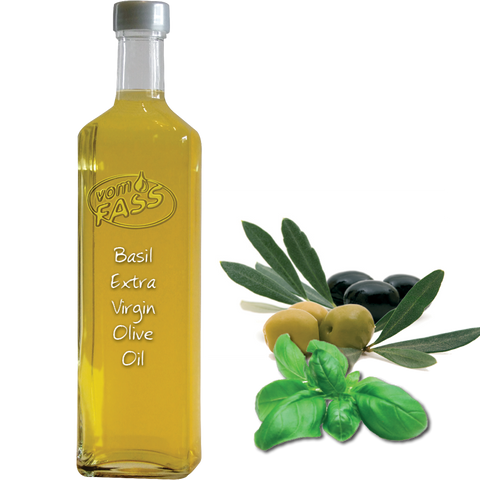 Basil Extra Virgin Olive Oil / Infused Olive Oil