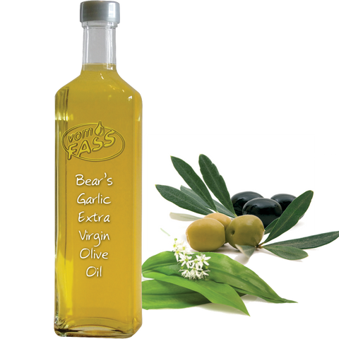 Bear's Garlic Extra Virgin Olive Oil / Infused Extra Virgin Olive Oil
