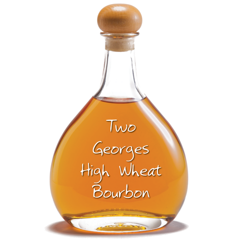 Two Georges High Wheat Blended Bourbon