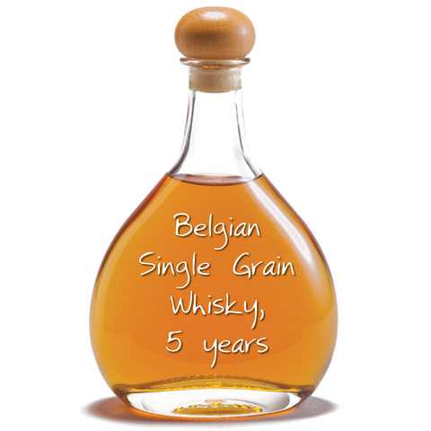 Belgian Single Grain Whisky, 5 years