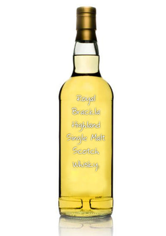 Royal Brackla Highland Single Malt Scotch Whisky, 19 year