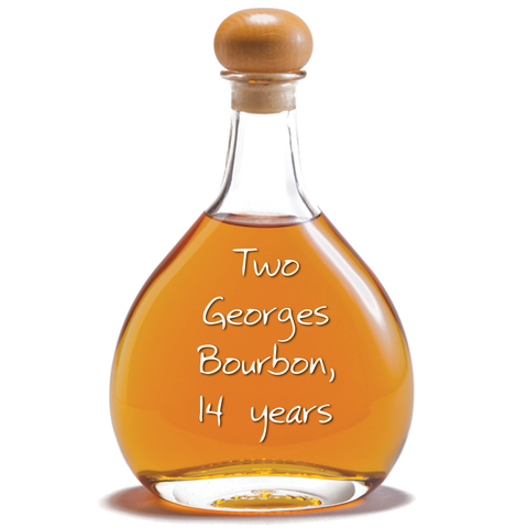 Two Georges Bourbon, 14 years