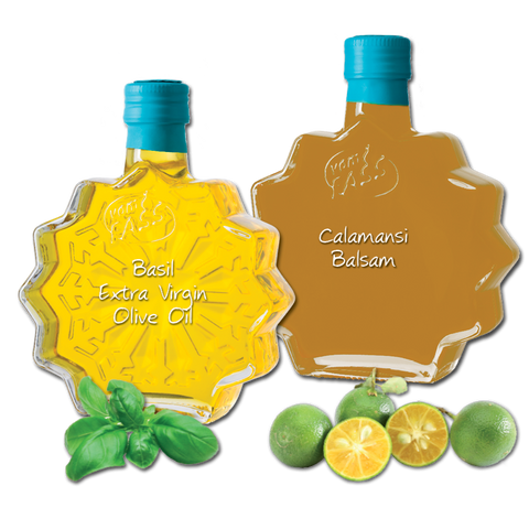 Calamansi Balsam and Basil Extra Virgin Olive Oil
