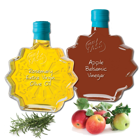 Apple Balsamic Vinegar and Rosemary Extra Virgin Olive Oil