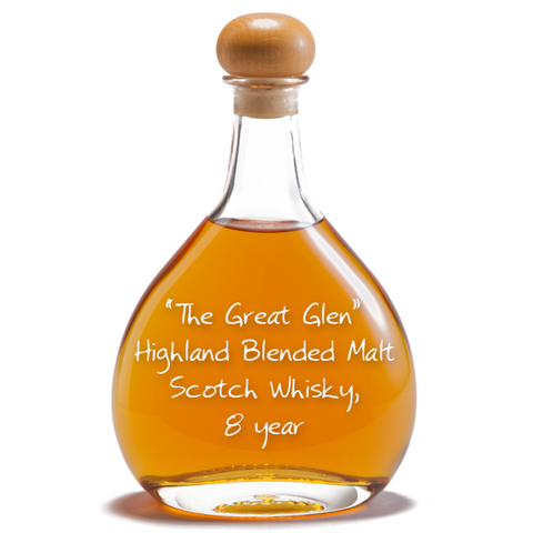 Great Glen Highland Blended Malt Scotch Whisky, 8 year