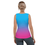 Triangular Running Vest Pink