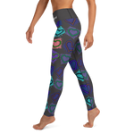 Retro Hearts Leggings
