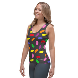 Jellybeans Running Vest Black