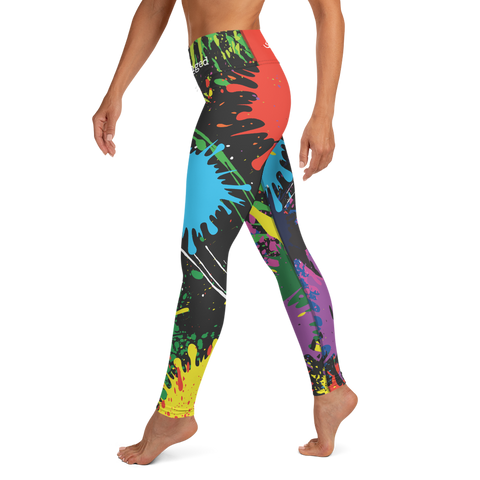 Paint Hurricane Leggings