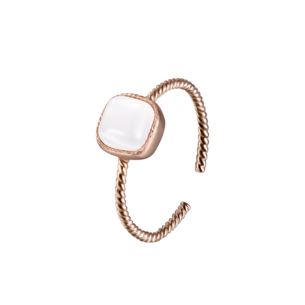 Ring Waterdrop Roségold