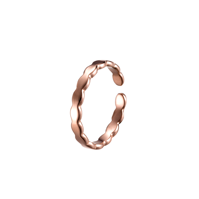 Ring Heart of Crown Roségold