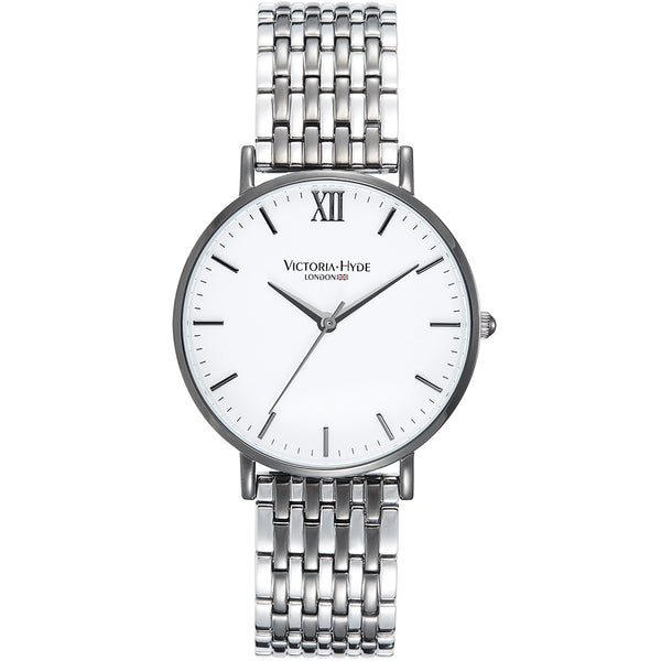 Uhr Chelsea Classic Metall Bicolor Grau Silber