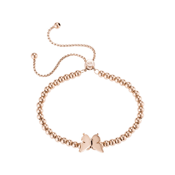 Armband Perivale Butterfly Roségold