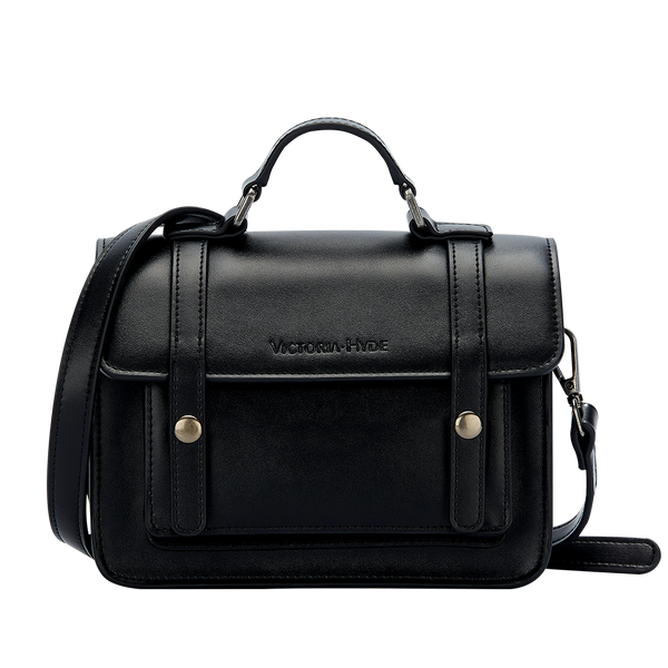 Handtasche Cambridge Satchel Bag Black