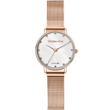 Loughton Mesh Rose Gold