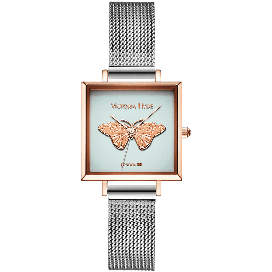 Maida Vale Mesh Silver Butterfly