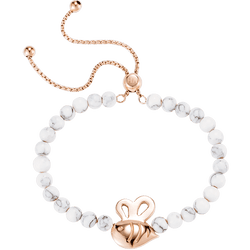 Armband Perivale Bee Marble Roségold