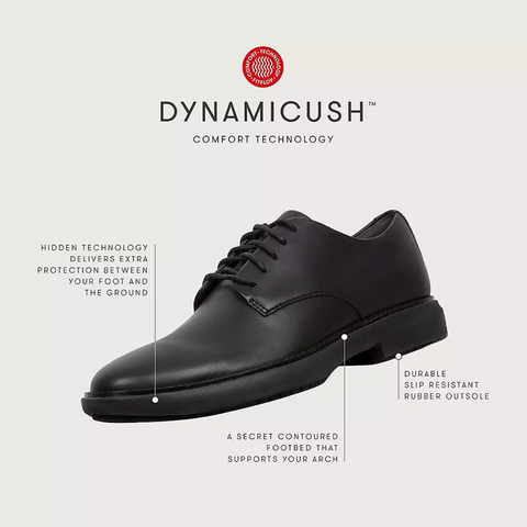 FITFLOP ODYN LEATHER SHOES DYNAMICUSH TECHNOLOGY