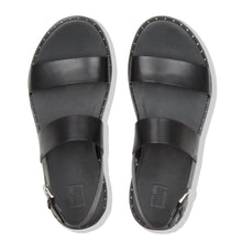 Load image into Gallery viewer, FitFlop™ Barra Leather Back-Strap Sandals