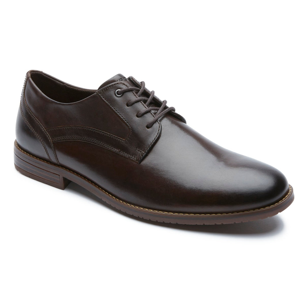 Rockport Style Purpose 3 Plain Toe Oxford (Wide Fit)