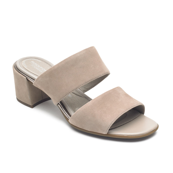 Rockport Total Motion Alaina Double Band Slide (Wide Fit)