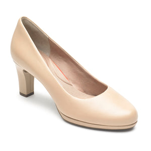 Rockport Total Motion Leah Heel (Wide Fit)