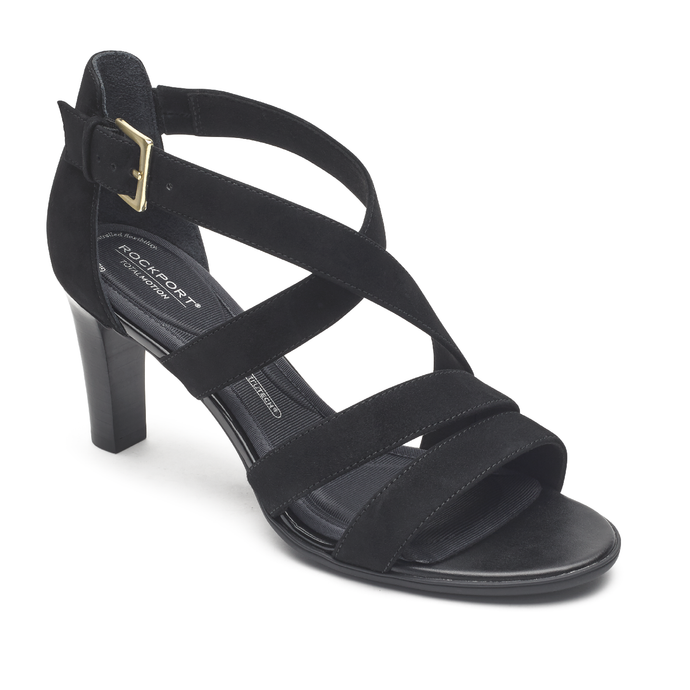 Rockport Total Motion Edith Strappy Sandal (Wide Fit)