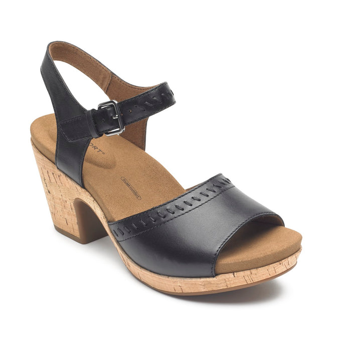 Rockport Vivianne 2 Part Sandal (Wide Fit)