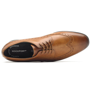 Rockport Style Connected Wingtip II (Wide Fit)