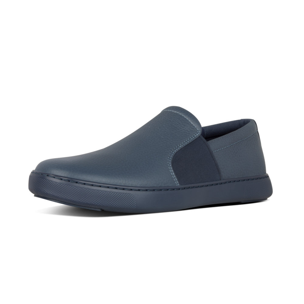 FitFlop™ Collins Leather Slip-On Skate Shoes