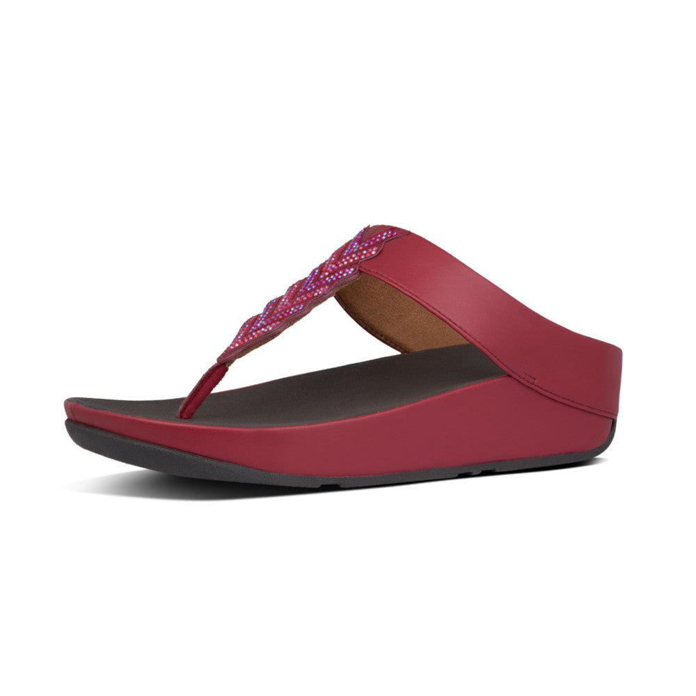 FitFlop™ Cora Crystal Toe-Thongs