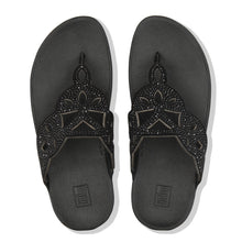 Load image into Gallery viewer, FitFlop™ Elora Crystal Toe-Thongs