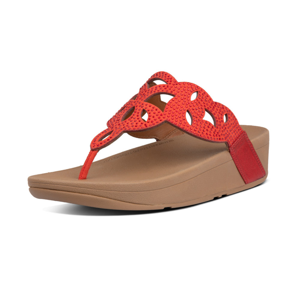 FitFlop™ Elora Crystal Toe-Thongs