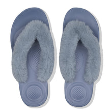 Load image into Gallery viewer, FitFlop™ IQUSHION Ergonomic Fluffy Toe-Thongs
