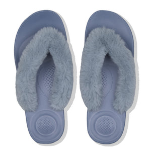 FitFlop™ IQUSHION Ergonomic Fluffy Toe-Thongs