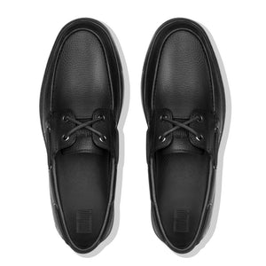 FitFlop™ Lawrence Leather Boat Shoes