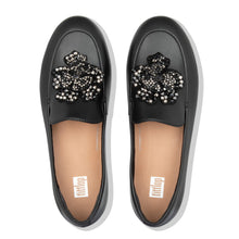 Load image into Gallery viewer, FitFlop™ Lena Corsage Loafers