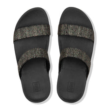 Load image into Gallery viewer, FitFlop™ Lottie Glitter Stripe Slides