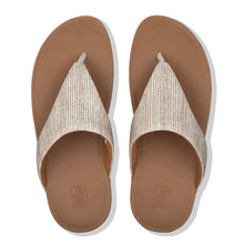 Load image into Gallery viewer, FitFlop™ Lottie Glitter Stripe Toe-Thongs