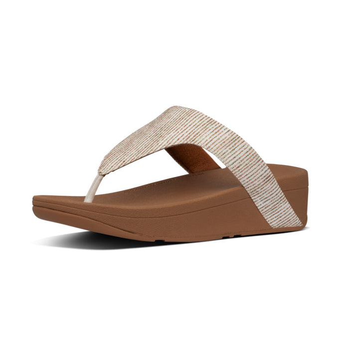 FitFlop™ Lottie Glitter Stripe Toe-Thongs
