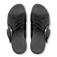 Load image into Gallery viewer, FitFlop™ Lulu Croco Slides