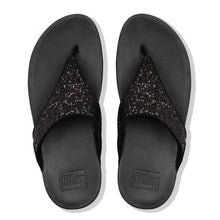 Load image into Gallery viewer, FitFlop™ Lulu Glitter Toe-Thongs