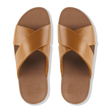 Load image into Gallery viewer, FitFlop™ Lulu Cross Slide Sandals