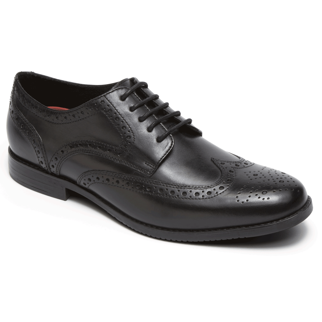 Rockport Style Purpose Wingtip (Wide Fit)