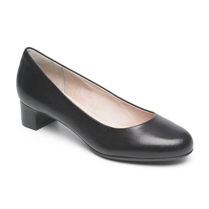 Rockport Seven to 7 Low Plain Pump (Wide Fit)