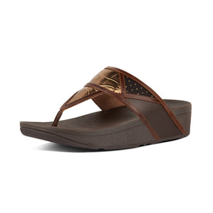 FitFlop™ Margot Art Deco Patchwork Toe-Thongs