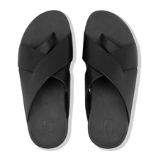 Load image into Gallery viewer, FitFlop™ Mocca Novaweave Leather Toe-Thongs