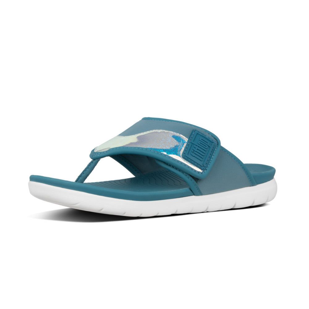 FitFlop™ Sporty Step II Glitter-Mix Toe-Thongs