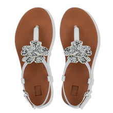 Load image into Gallery viewer, FitFlop™ Tia Corsage Back-Strap Sandals